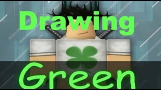 SpeedPaint #10 ~ Green Dino RBLX