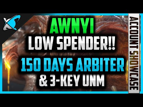 ARBITER & 3-KEY UNM IN 5 MONTHS !!!! | *Low Spender* Awnyi Account Showcase | RAID: Shadow Legends
