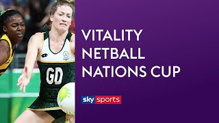 LIVE NETBALL! Jamaica vs South Africa