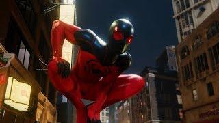 Spider-Man Chases Shocker (Scarlet Spider 2 Suit Walkthrough) - Marvel's Spider-Man