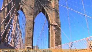 New York City's Brooklyn Bridge - 2 Minute Tour