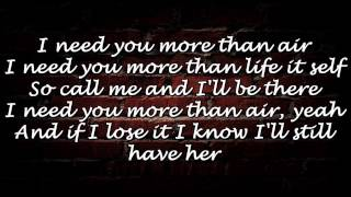 Richie Campbell - More than Air (LYRICS)