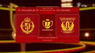 REAL VALLADOLID, 1; C.D. LEGANÉS, 2 (COPA DEL REY - DIECISEISAVOS DE FINAL - IDA, 25-10-2017)
