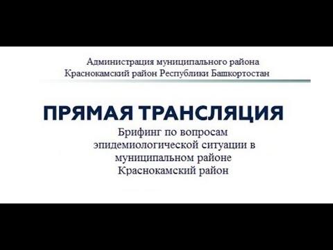 Брифинг по вопросам эпидемиологической ситуации в МР Краснокамский район