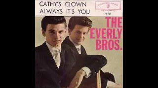 "Everly Brothers ""Cathy's Clown"""