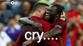 Portugal vs France 1 - 0 FINAL EURO 2016 - PORTUGUESE COMMENTATORS EDER GOAL ANTENA 1