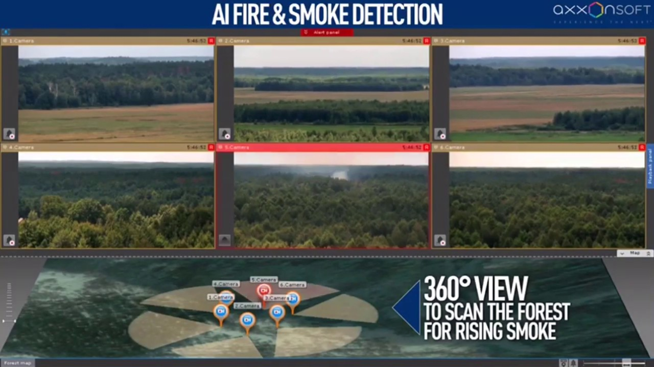 Smoke and fire detection