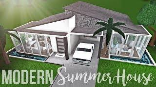 Lets Build Bloxburg Modern Family Home Part 1