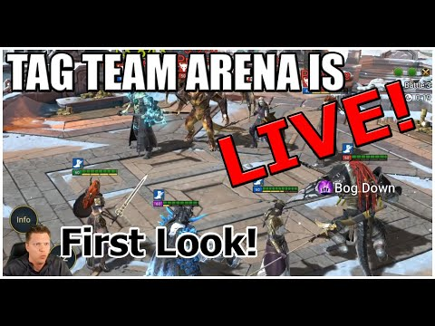 RAID | Tag Team Arena Is LIVE!! | First Look / How It Works!