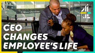 Undercover Boss Changes Homeless Employee's Life!   Undercover Boss USA