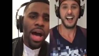 "Luke Bryan & Jason Derulo ""Want To Want Me"""