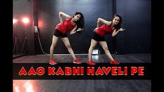 Aao Kabhi Haveli Pe Dance Cover | Stree | Kriti Sanon | Badshah | Mohit Jain's Dance Institute MJDi