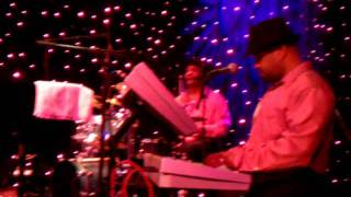 "The Reall Deall Band performs ""Wet My Whistle"" by Midnight Star..."