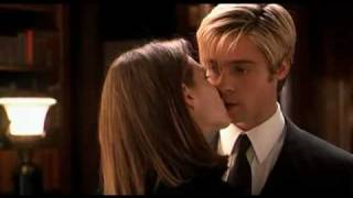 Meet Joe Black first kiss