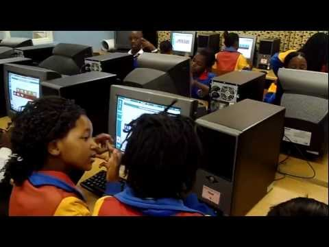 IT Labatory – Mandalay Primary School South Africa 2012