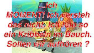 Spongebob und Plankton FUN-Song Lyrics Deutsch (German)