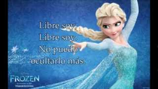 Libre soy (Letra) Versión de la película para latinoamérica.