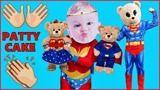 Patty Cake Song For Kids Pat a Cake Song for Children Nursery Rhyme Teddy Bears