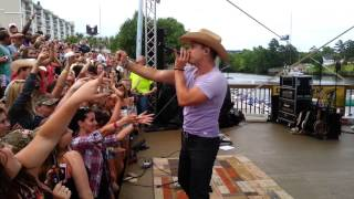 Dustin Lynch cover of Country Girl Shake It For Me