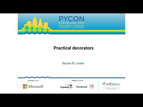 Practical decorators
