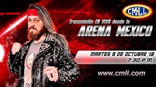 CMLL Martes de Nuevos Valores 9 de octubre de 2018