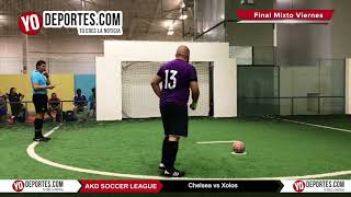 Penales Chelsea vs. Xolos AKD Soccer League Final COED