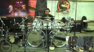Live Wire by Mötley Crüe Motley Crue Drum Cover by Myron Carlos
