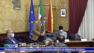 Marsala: otto consiglieri per lo scioglimento di Marsala Schola