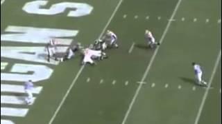Jonal Saint-Dic sacks the quarterback