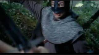 Merlin 2x04 - Morgana and Gwen attempt to escape