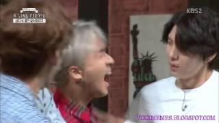 150920 VIXX LR (빅스 LR) VIXX Ravi (빅스 라비) Bug freak out on Song For You
