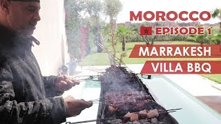 Moroccan Street Food Delivered To Our PRIVATE VILLA! (Ep 1)