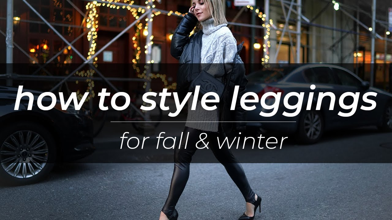 How to Style Leggings | Fall & Winter | Christie Ferrari