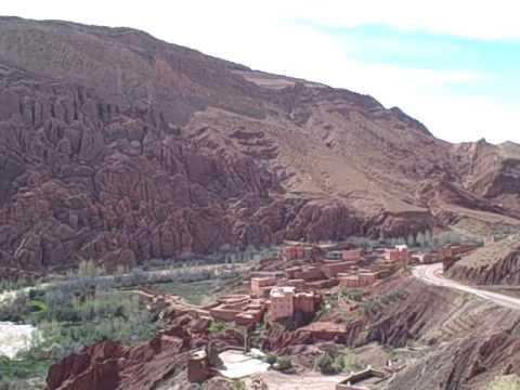 Dades Gorge Panorama