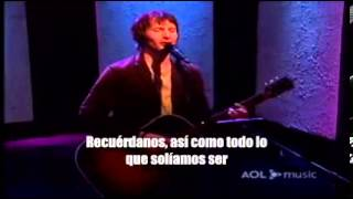 James Blunt - Goodbye My Lover (Subtitulada en español) | Acoustic Version.