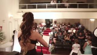 Minueto - Dama no Vídeo A Modelo Alicia Brito da Agência Ju Oliveira Models