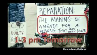 Plug for Reparations Rally