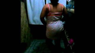 Irma dançando funk