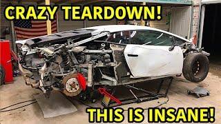 Rebuilding A Wrecked Lamborghini Huracan Part 3