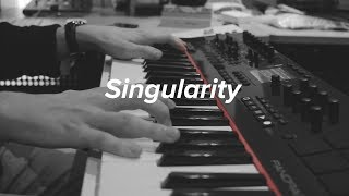 """BTS V (방탄소년단)  - """"Singularity"""" - Piano Cover (With Chords)"""