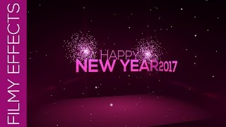 Happy New Year 2017  | After effects Templates