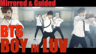 BTS - Boy In Luv | Mirrored + Guided Dance Practice