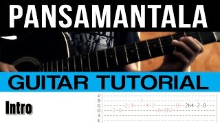 Pansamantala Callalily Guitar Lesson Tutorial (WITH TABS)