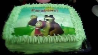 Meu aniversario de 7 anos da marcha e o urso