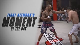 Moment of the Day: Jimi Manuwa Counterpunches Reza Mahdavian for Finish at UCMMA 12