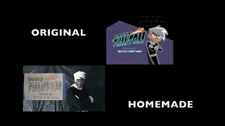 Live Action Danny Phantom Theme Song- Side by Side Comparison