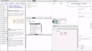 JavaScript and jQuery IDE with Auto-Complete