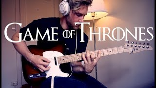 Game Of Thrones Theme - Electric Guitar Cover
