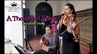 A Thousand Years - Vocal/Instrumental Version - Madeline Alicea Cover