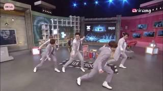 KNK dancing to Knock, Back Again and U on double speed!